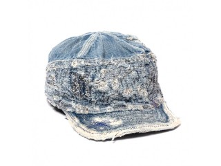 KAPITAL KOUNTRY 12OZ DENIM THE OLD MAN AND THE SEA CAP