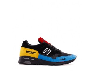 NEW BALANCE 1500 MADE IN UK ENGLAND BLACK BLUE YELLOW MEN M1500UCT