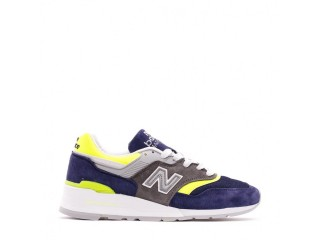 NEW BALANCE 997 MADE IN USA NAVY GREY YELLOW MEN M997LBL