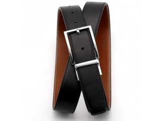Fashion Double Sided Leather Belt