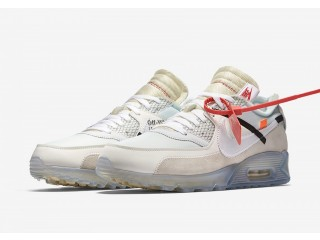 Off-White x Niкe Air Max 90 White