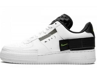 Nike Air Force 1 Type White/Black/Volt