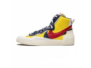 """Nike Blazer Mid x Sacai """"Maize Navy"""""""