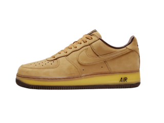 Mens Air Force 1 Low SP Wheat Mocha Shoes