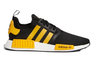 ADIDAS NMD_R1 CORE BLACK/ACTIVE GOLD